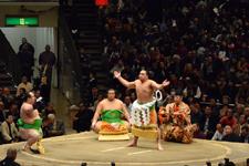 大相撲 横綱土俵入りと日馬富士 公平と宝富士 大輔と誉富士 歓之の画像006