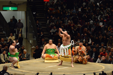 大相撲 横綱土俵入りと日馬富士 公平と宝富士 大輔と誉富士 歓之の画像010
