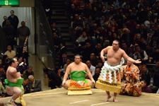 大相撲 横綱土俵入りと日馬富士 公平と宝富士 大輔と誉富士 歓之の画像011