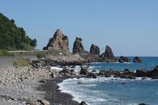 室戸岬の海岸の画像016