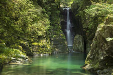 安居渓谷の滝の画像004