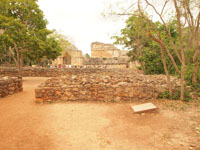 ユカタン半島のエクバラン遺跡の画像001