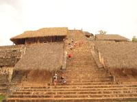ユカタン半島のエクバラン遺跡の画像007