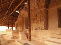 ユカタン半島のエクバラン遺跡の画像009