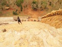 ユカタン半島のエクバラン遺跡の画像014