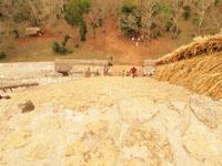 ユカタン半島のエクバラン遺跡の画像015