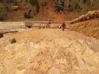 ユカタン半島のエクバラン遺跡の画像016