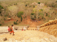 ユカタン半島のエクバラン遺跡の画像018