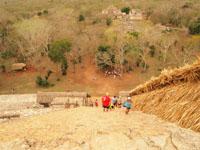 ユカタン半島のエクバラン遺跡の画像019