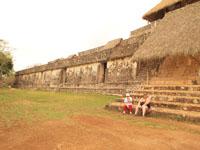 ユカタン半島のエクバラン遺跡の画像020