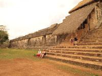 ユカタン半島のエクバラン遺跡の画像021