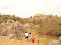 ユカタン半島のエクバラン遺跡の画像023