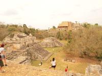 ユカタン半島のエクバラン遺跡の画像025