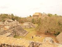 ユカタン半島のエクバラン遺跡の画像026