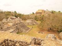 ユカタン半島のエクバラン遺跡の画像027