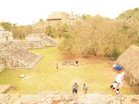 ユカタン半島のエクバラン遺跡の画像028