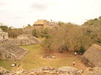 ユカタン半島のエクバラン遺跡の画像029