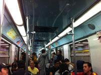 メキシコシティの電車の画像001