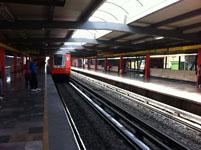 メキシコシティの駅の画像002