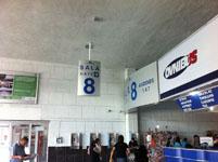 メキシコシティの駅の画像006