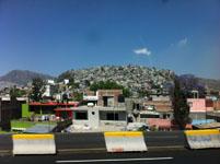 メキシコシティの街並みの画像001