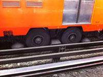 メキシコシティの電車の画像002