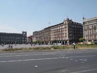 メキシコシティの街並みの画像019