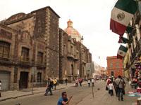 メキシコシティの街並みの画像022