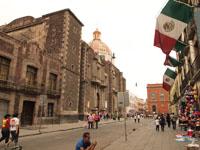 メキシコシティの街並みの画像029