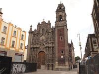 メキシコシティの街並みの画像025