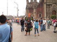 メキシコシティの街並みの画像027