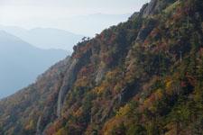 瓶ヶ森の紅葉の画像049