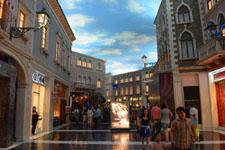 ヴェネチアンのショッピングモールの画像002