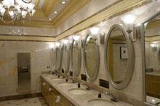 ベラージオ ラスベガスの洗面所