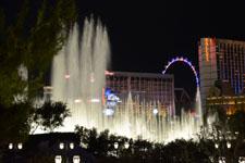 ベラージオ ラスベガスの噴水ショーの画像003
