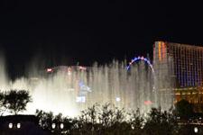 ベラージオ ラスベガスの噴水ショーの画像004