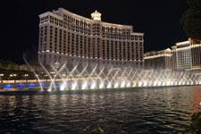ベラージオ ラスベガスの噴水ショーの画像011