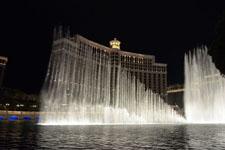 ベラージオ ラスベガスの噴水ショーの画像012