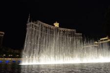 ベラージオ ラスベガスの噴水ショーの画像013