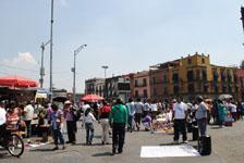 メキシコシティの街並みの画像040