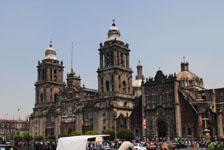 メキシコシティの街並みの画像042