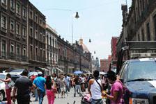 メキシコシティの街並みの画像043