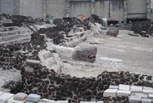 メキシコシティテンプロ・マヨール遺跡の画像020