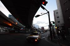 横浜の道路