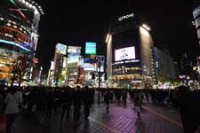 渋谷のスクランブル交差点の画像008