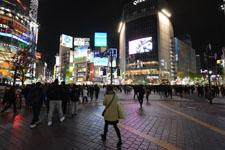渋谷のスクランブル交差点の画像009