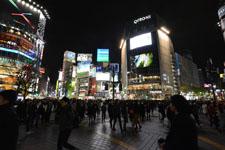 渋谷のスクランブル交差点の画像011