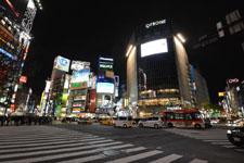 渋谷のスクランブル交差点の画像012
