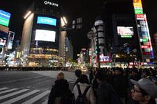 渋谷のスクランブル交差点の画像013