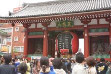 浅草の雷門の画像001